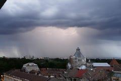 夏天风暴 免版税库存照片
