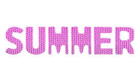 夏天 颜色桃红色 库存图片