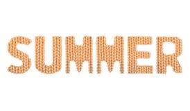 夏天 颜色桔子 免版税库存照片