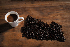 夏威夷咖啡 免版税库存照片