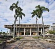 夏威夷国家资本大厦 图库摄影