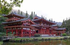 夏威夷奥阿胡岛寺庙 免版税库存图片