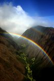 夏威夷彩虹 图库摄影
