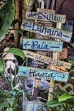 夏威夷标志 免版税库存照片