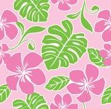 夏威夷模式无缝的夏天 免版税库存照片