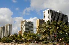 夏威夷檀香山 库存照片
