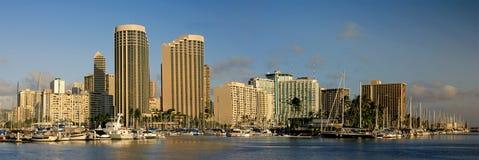 夏威夷檀香山 库存图片