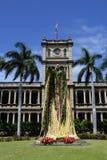 夏威夷檀香山kamehameha国王雕象 库存图片