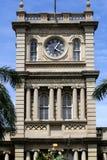 夏威夷檀香山kamehameha国王雕象 免版税图库摄影