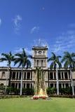夏威夷檀香山kamehameha国王雕象 库存照片
