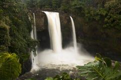 夏威夷瀑布 免版税库存照片