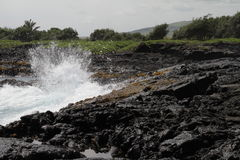 夏威夷熔岩 免版税库存照片