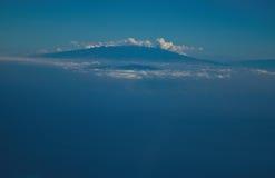 夏威夷的大岛 库存图片