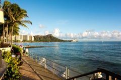 夏威夷的威基基 库存照片