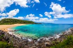 夏威夷的美丽的海洋 库存照片