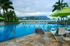 夏威夷考艾岛池手段 免版税图库摄影