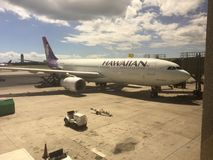 夏威夷航空公司 库存照片