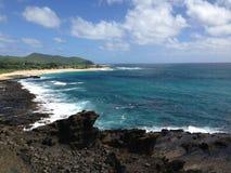 夏威夷视图 免版税库存图片