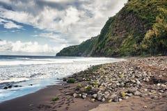 夏威夷谷waipio 免版税库存图片