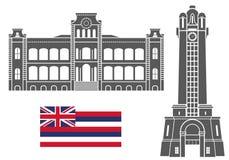 夏威夷 集合 免版税图库摄影
