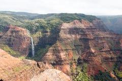 夏威夷Waimea峡谷 库存图片
