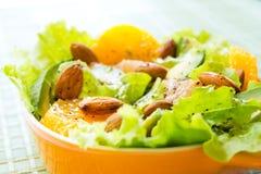 夏季的柑橘沙拉 库存图片
