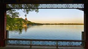 夏季的颐和园 库存照片