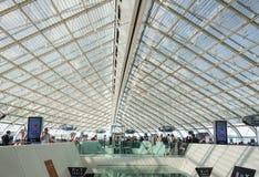 夏尔・戴高乐,巴黎,法国Airoport  免版税库存图片