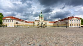 夏洛特堡宫在柏林,德国 库存照片