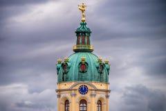 夏洛登堡城堡在柏林,德国秋天 库存照片