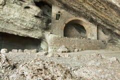 夏里亚宾著名洞穴 免版税图库摄影