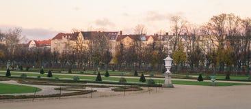 夏洛登堡公园,柏林 库存照片