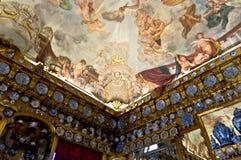 夏洛登堡天花板 库存照片