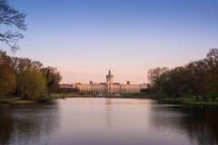 夏洛特堡宫在柏林,德国 图库摄影