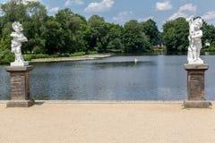 夏洛特堡宫柏林雕象 免版税图库摄影