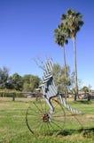 夏洛特平原, Cunnamulla,昆士兰,澳大利亚 免版税库存图片