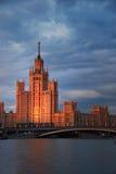 外交部莫斯科 免版税库存图片
