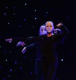 外人这偏僻的舞蹈家现代舞蹈 图库摄影