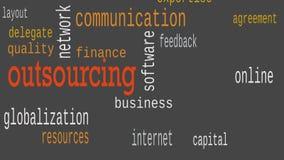 外包的词云彩,企业概念 ?? 影视素材