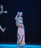 外在干涉差事到迷宫现代舞蹈舞蹈动作设计者玛莎・葛兰姆里 库存图片