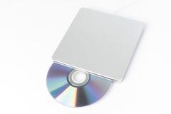 外在DVD作家 库存照片