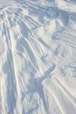 2外壳稀薄强调冻结湖自然模式雪阳光表面纹理 免版税库存照片