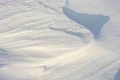 2外壳稀薄强调冻结湖自然模式雪阳光表面纹理 库存照片