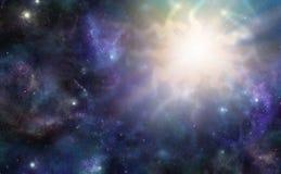 外层空间巨型的宇宙事件 免版税库存图片