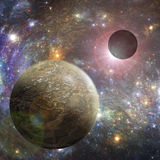 外层空间行星例证 库存照片