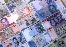 外币笔记 免版税图库摄影