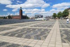 外推Taubes terrass,斯德哥尔摩 库存图片