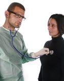 外科医生年轻人 免版税库存图片