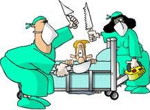外科医生 库存例证