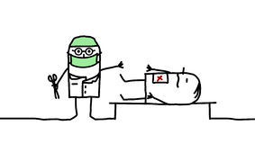 外科医生 免版税图库摄影